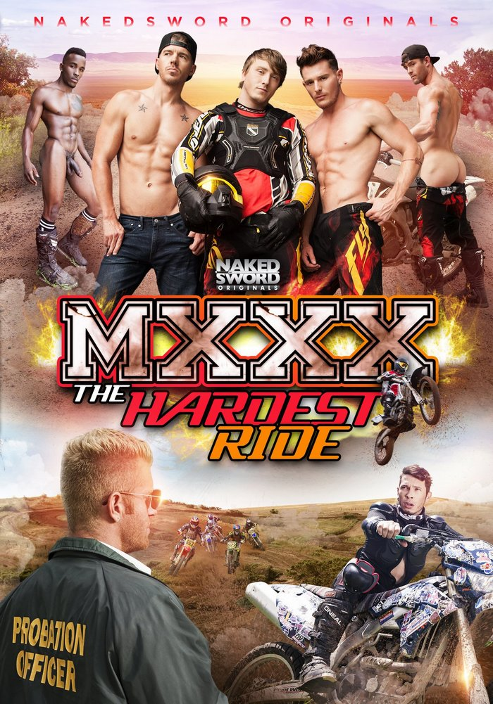 MXXX The Hardest Ride Gay Porn Cover