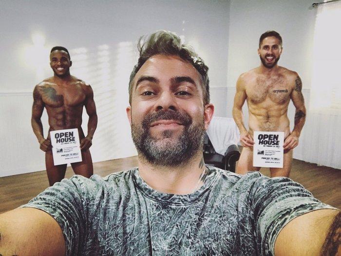 Pheonix Fellington Wesley Woods Steve Cruz Gay Porn Behind The Scenes