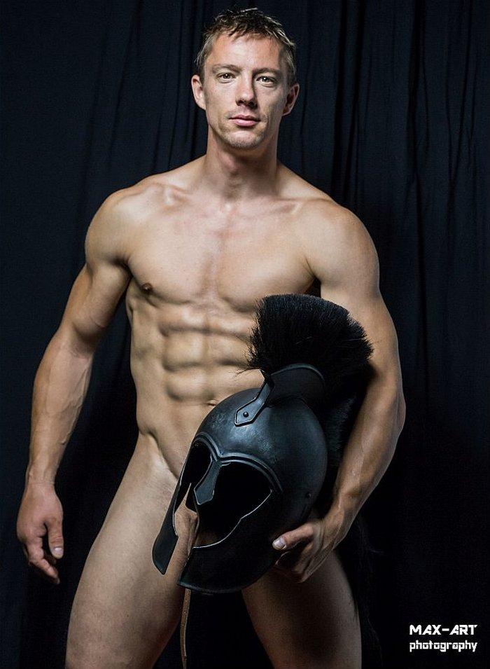 Sascha Chaykin BelAmi Gay Porn Star Muscle Stud Naked