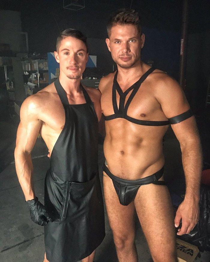 Skyy Knox Tyler Roberts Gay Porn Behind The Scenes