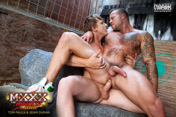 Tom Faulk Gay Porn Sean Duran MXXX The Hardest Ride