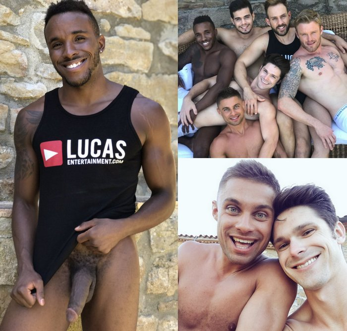 Pheonix Fellington Gay Porn Star Rico Marlon Devin Franco Klim Gromov