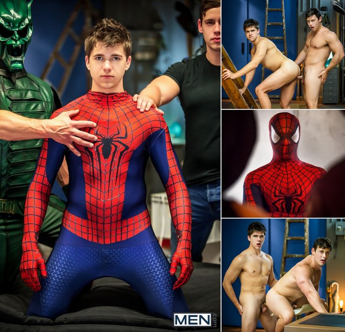Spider-Man Gay Porn Parody Will Braun Tobias