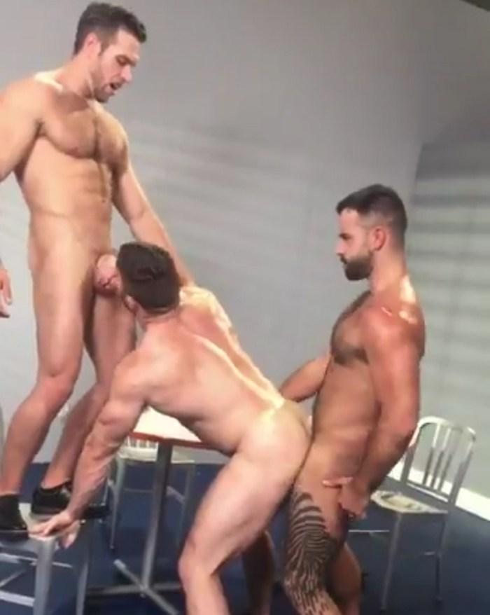 Alex Mecum Derek Bolt Teddy Torres Gay Porn