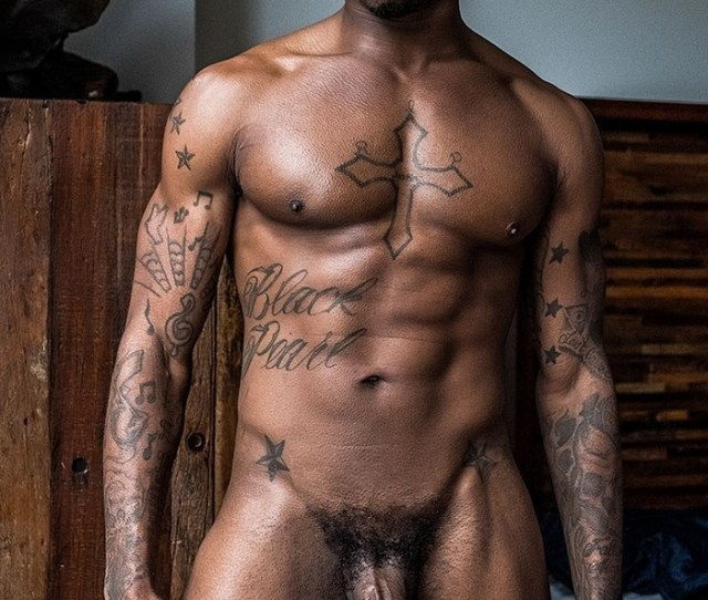 Black Pearl Big Dick Gay Porn Star Naked