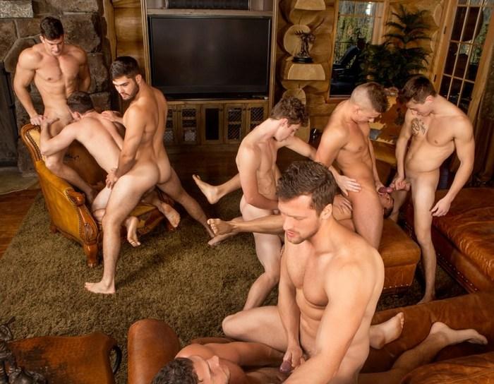 Jake Porter Sean Cody Gay Porn Orgy