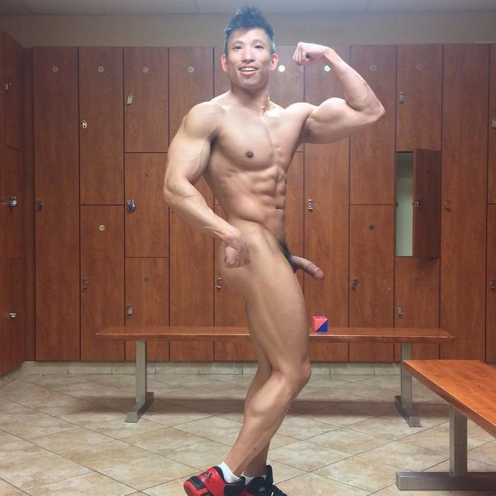 Jessie Lee Asian Bodybuilder Naked Gay Porn Star PeterFever