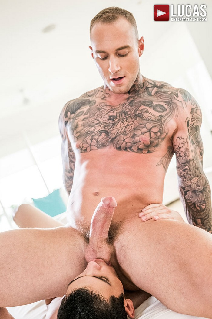 Cumming in own ass movies gay cum loving 8