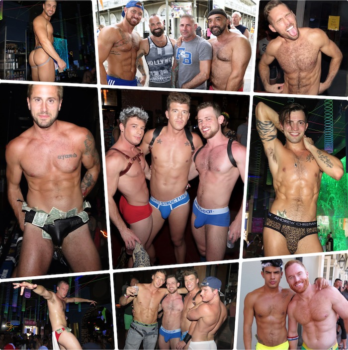 Gay Porn Stars Shirtless Southern Decadence 2017