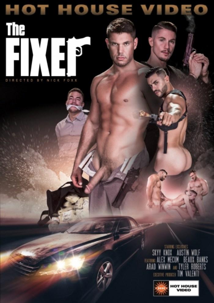 The Fixer Gay Porn Cover