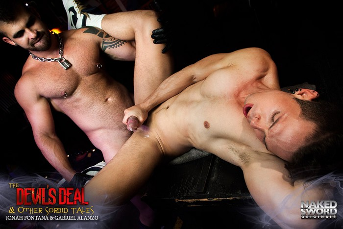 Gay Porn Jonah Fontana Gabriel Alanzo The Devils Deal