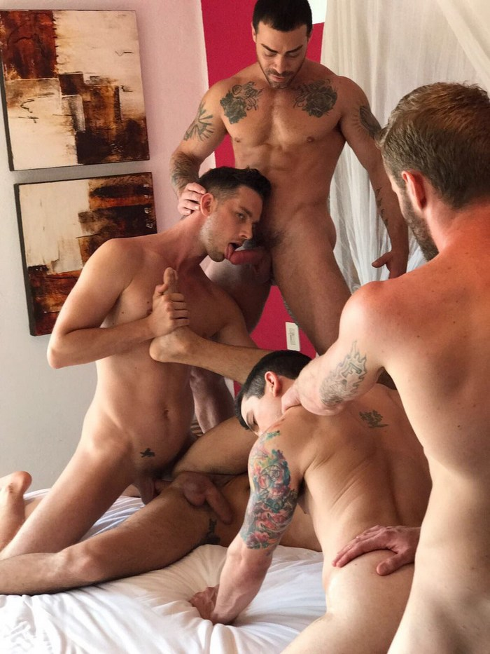 Gay Porn Orgy Shawn Reeve Dakota Payne Damon Heart Carlos Lindo
