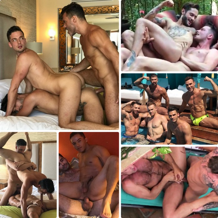 Gay Porn Stars Fucking Bareback Puerto Vallarta Lucas Entertainment Behind The Scenes
