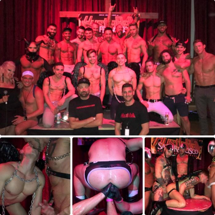HustlaBall Las Vegas Live Sex Show Gay Porn Orgy Triple Fisting