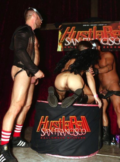 HustlaBall San Francisco Casey Evertt Gang Bang 01