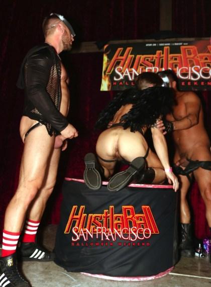 HustlaBall San Francisco Casey Evertt Gang Bang 01
