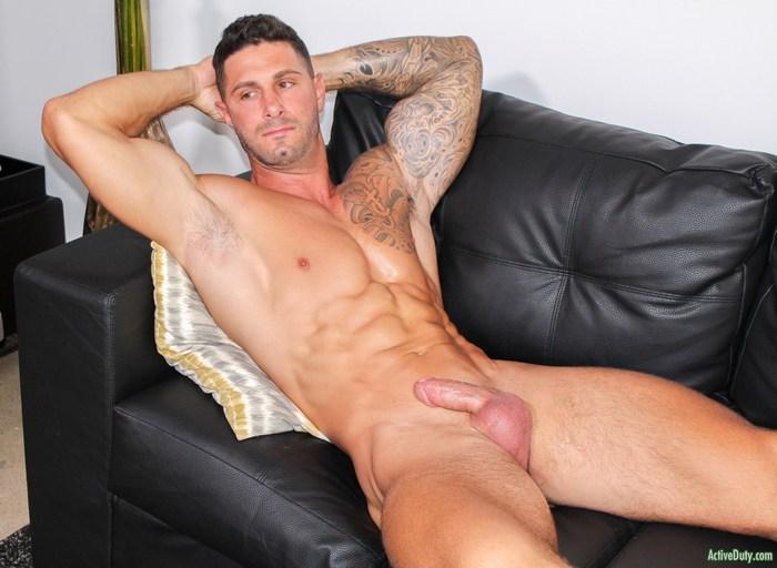 Jordan Active Duty Gay Porn Hunk Naked