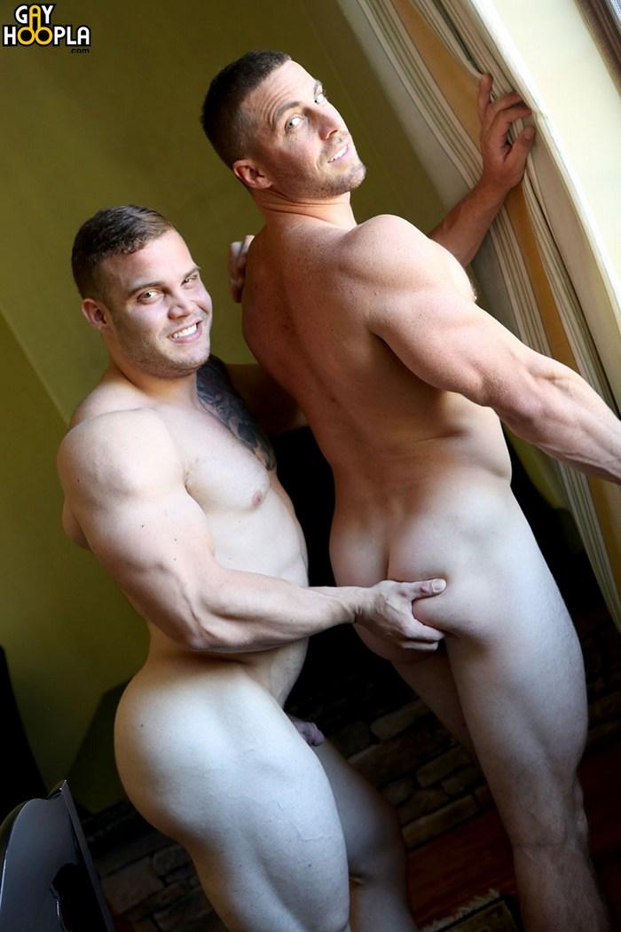 Buck Carter Gay Porn Bodybuidler Derek Jones Muscle Hunk