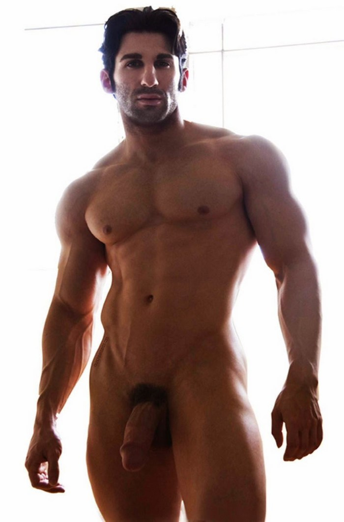 Black male models naked