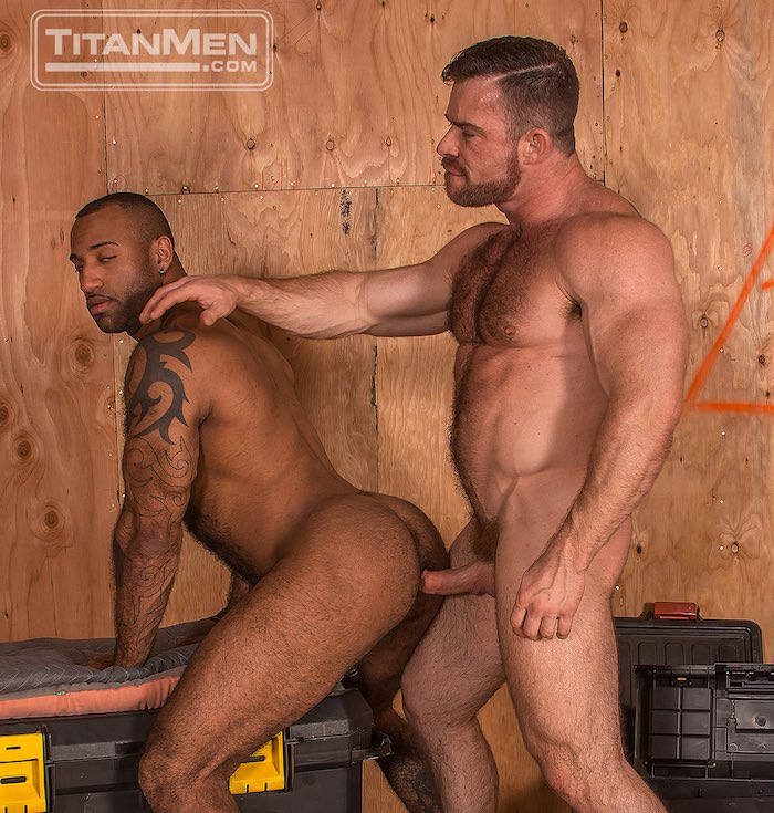 Daymin Voss Gay Porn Liam Knox TitanMen BEEF Muscle Hunk