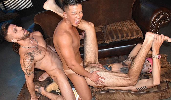 Gay Porn Alex Chu FX Rios Ari Nucci PeterFever The Deuce