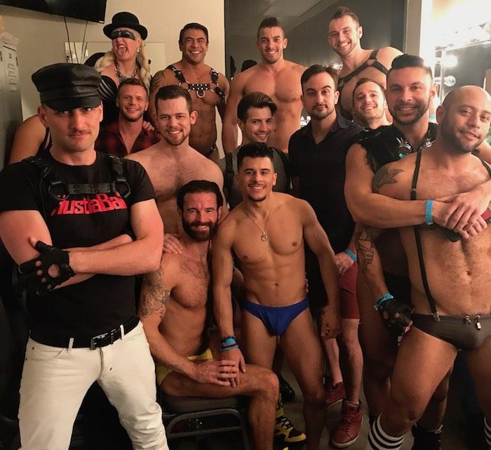 Gay Porn Stars HustlaBall Las Vegas 2018