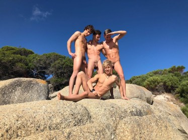BelAmi Gay Porn Stars Back In Africa Live 16