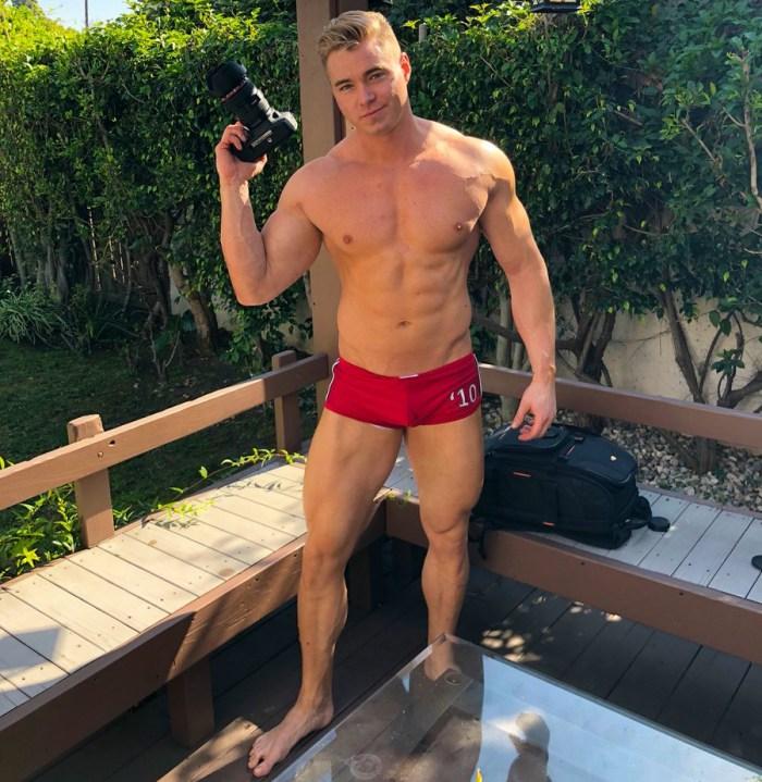 Colin Hart Connor Corbin Fisher Gay Porn Star Shirtless Muscle Hunk