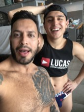 Gay Porn Stars Behind The Scenes LucasEnt Barcelona 2018 11