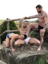 Gay Porn Stars Behind The Scenes LucasEnt Barcelona 2018 20