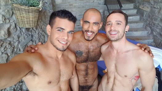 Gay Porn Stars Behind The Scenes LucasEnt Barcelona 2018 23