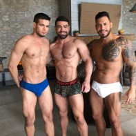 Gay Porn Stars Behind The Scenes LucasEnt Barcelona 2018 34