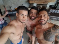 Gay Porn Stars Behind The Scenes LucasEnt Barcelona 2018 35