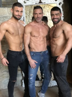 Gay Porn Stars Behind The Scenes LucasEnt Barcelona 2018 40
