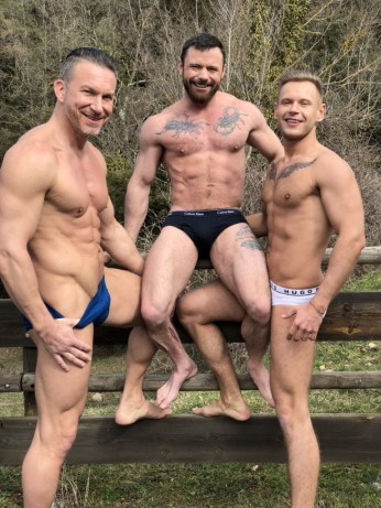 Gay Porn Stars Behind The Scenes LucasEnt Barcelona 2018 49