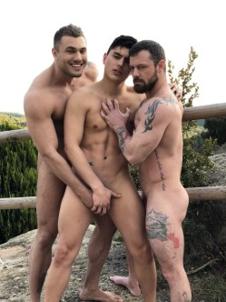 Gay Porn Stars Behind The Scenes LucasEnt Barcelona 2018 50