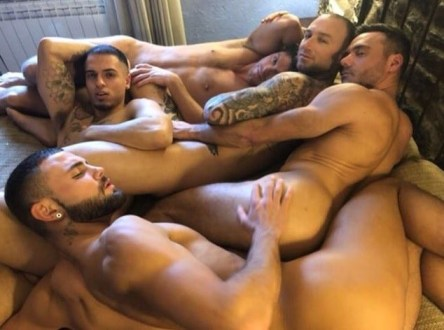 Gay Porn Stars Behind The Scenes LucasEnt Barcelona 2018 78