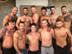 Gay Porn Stars Behind The Scenes LucasEnt Barcelona 2018 89