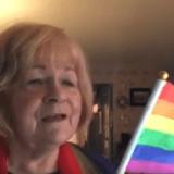 Oma Hymne Regenbogenflagge