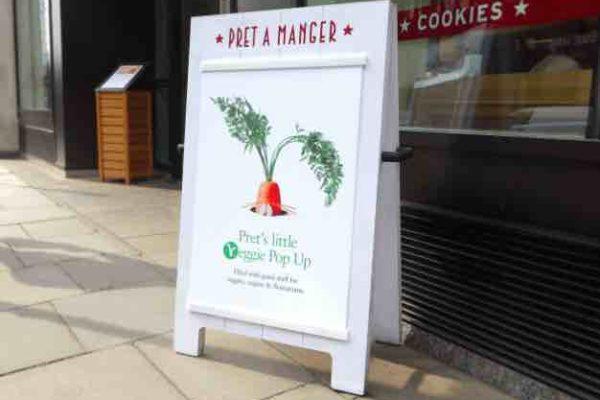 Pret A Manger ouvre son premier resto 100% veggie