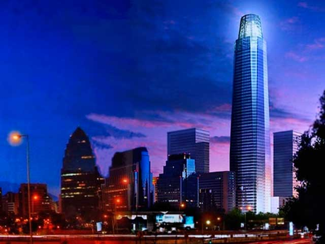Año nuevo Sky Costanera: mira todos los fuegos artificiales en 360°
