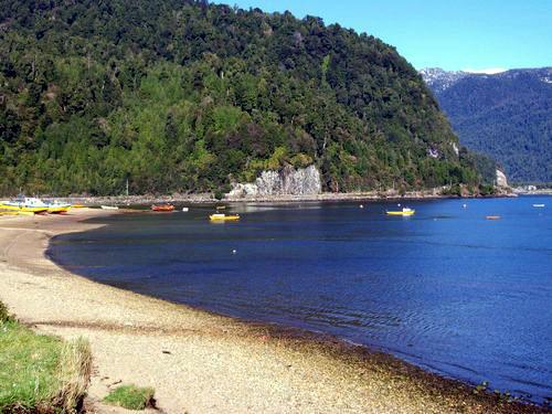 Puerto Cisnes: la playa más austral de Chile