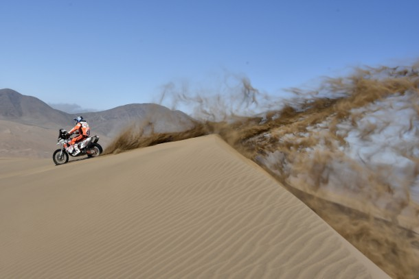 La velocidad se toma el desierto en el Atacama Rally 2016