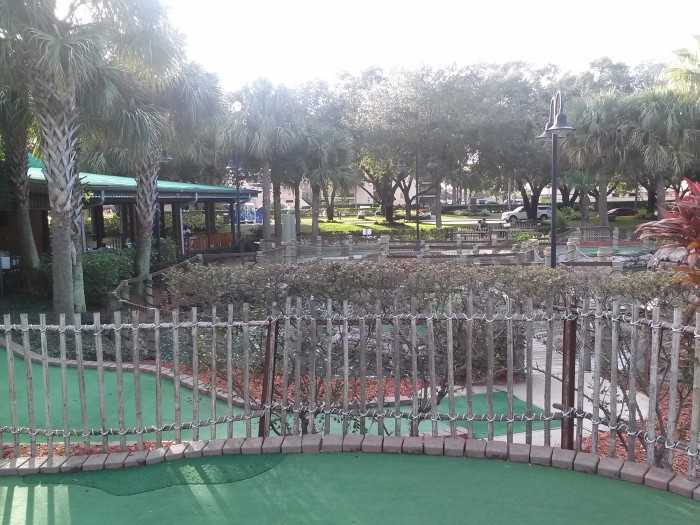 Hawaiian Rumble Miniature Golf in Orlando Florida