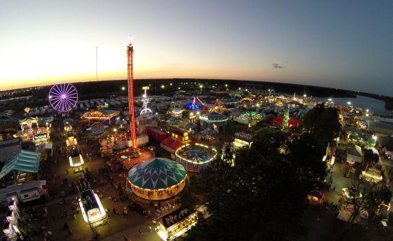 Central Florida Fair in Central Florida Fairgrounds Orlando