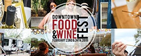 Downtown food & wine festival