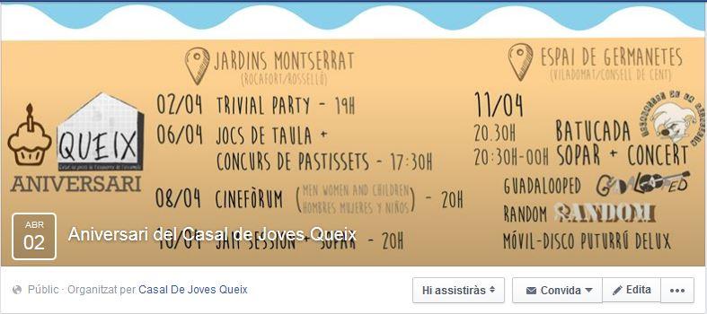 Esdeveniment Facebook