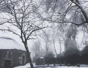 O Cebreiro nevado