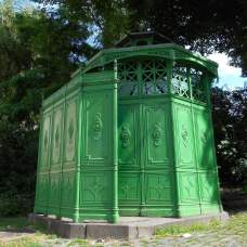Urinoir octogonal de Chamissoplatz