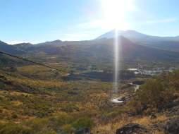 Vue de la crête vers le Teide